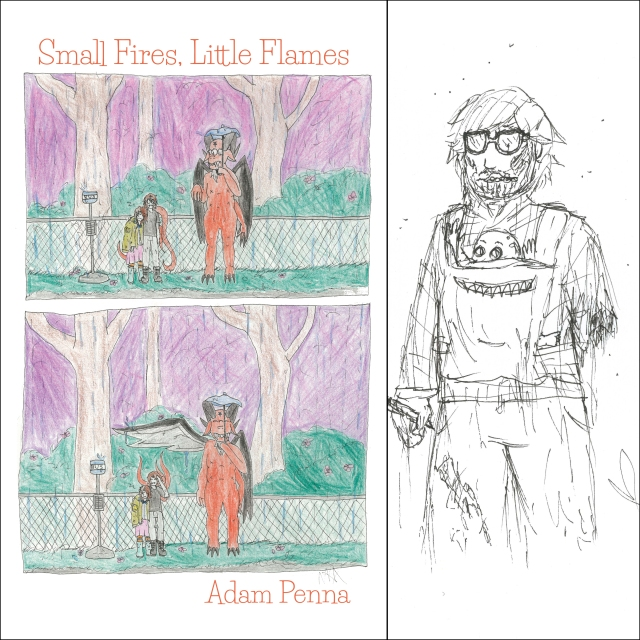 Penna_Adam_Small Fires_Little Flames_Coverart